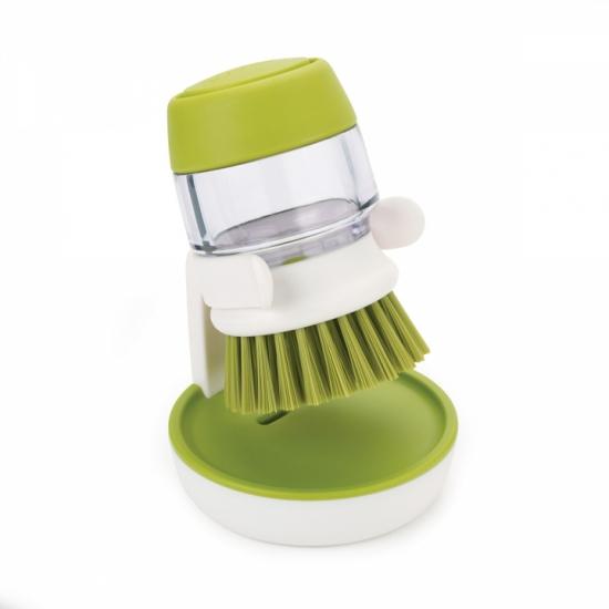 Щетка для мытья посуды с дозатором моющего средства Joseph Joseph Palm Scrub™ 3