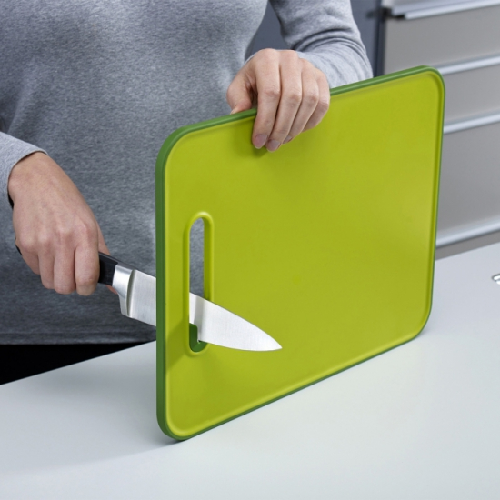 Разделочная доска с ножеточкой Joseph Joseph Slice&Sharpen™ Small 2