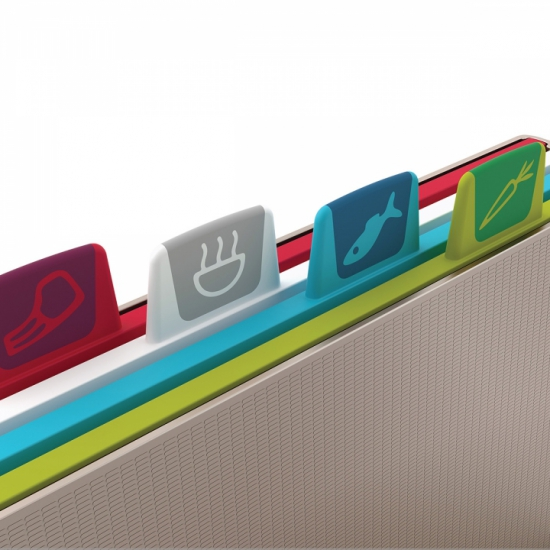 Набор разделочных досок Joseph Joseph Index™ Chopping Board Set Large 8