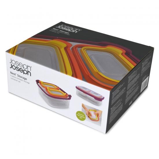 Контейнеры для хранения продуктов Joseph Joseph Nest™ Storage Set of 5 4