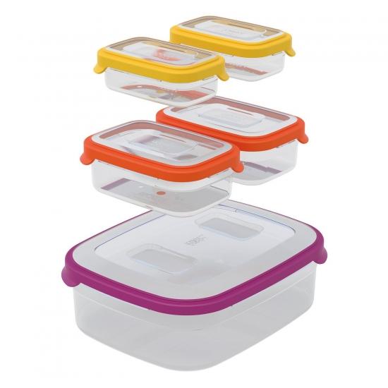 Контейнеры для хранения продуктов Joseph Joseph Nest™ Storage Set of 5 3