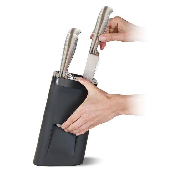 Универсальная подставка для ножей с защитой от детей Joseph Joseph LockBlock™ 1