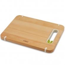 Деревянная разделочная доска с ножеточкой Joseph Joseph Slice&Sharpen™ Wood