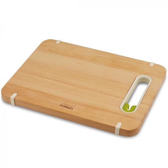 Деревянная разделочная доска с ножеточкой Joseph Joseph Slice&Sharpen™ Wood 4