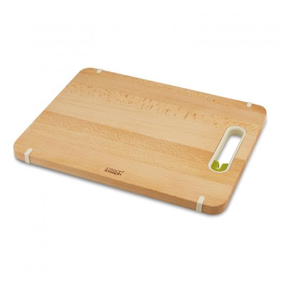 Деревянная разделочная доска с ножеточкой Joseph Joseph Slice&Sharpen™ Wood Large 2