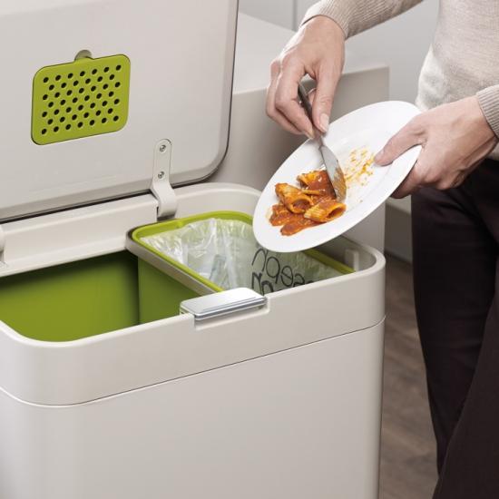 Контейнер для сортировки мусора Joseph Joseph Intelligent Waste™ Totem 50L 5