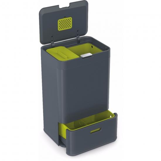 Контейнер для сортировки мусора Joseph Joseph Intelligent Waste™ Totem 50L 4