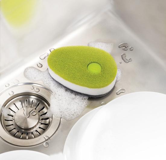 Губка для посуды с капсулой для  моющего средства Joseph Joseph Soapy Sponge 5