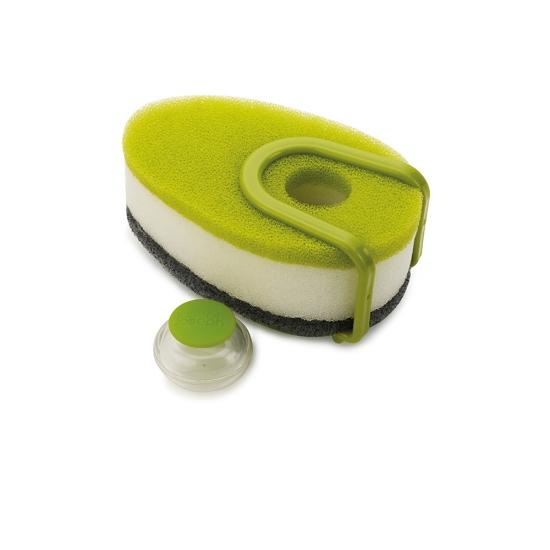 Губка для посуды с капсулой для  моющего средства Joseph Joseph Soapy Sponge 1