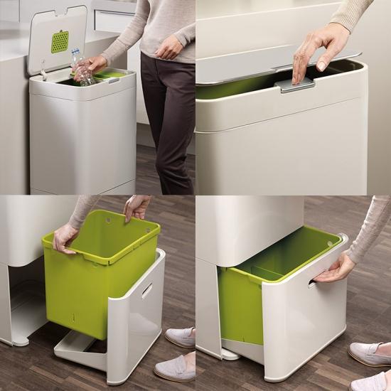 Контейнер для сортировки мусора Joseph Joseph Intelligent Waste™ Totem 60L 9