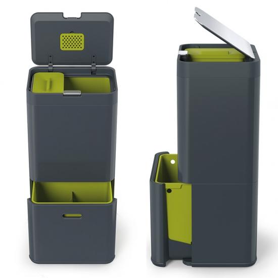 Контейнер для сортировки мусора Joseph Joseph Intelligent Waste™ Totem 60L 6