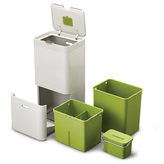 Контейнер для сортировки мусора Joseph Joseph Intelligent Waste™ Totem 60L 1