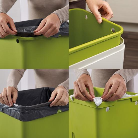 Контейнер для сортировки мусора Joseph Joseph Intelligent Waste™ Totem 60L 12