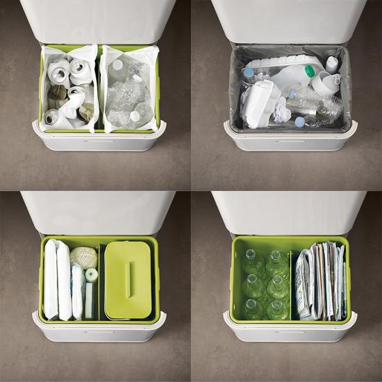 Контейнер для сортировки мусора Joseph Joseph Intelligent Waste™ Totem 60L 10