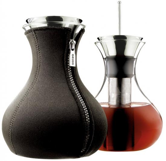 Чайник заварочный в неопреновом чехле Tea maker 1L 1