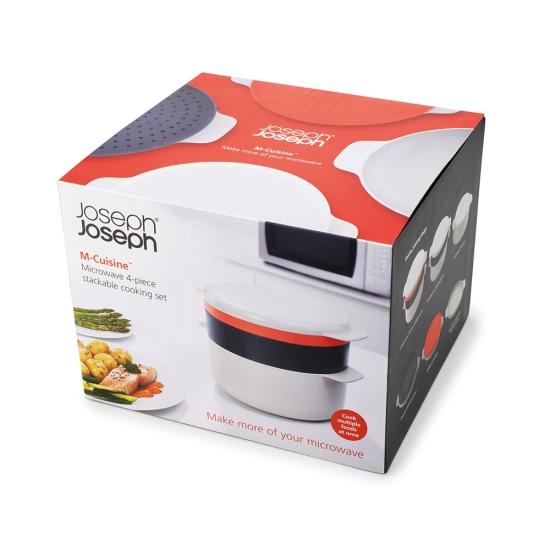 Набор для готовки в микроволновке Joseph Joseph M-Cuisine Stackable cooking set 5
