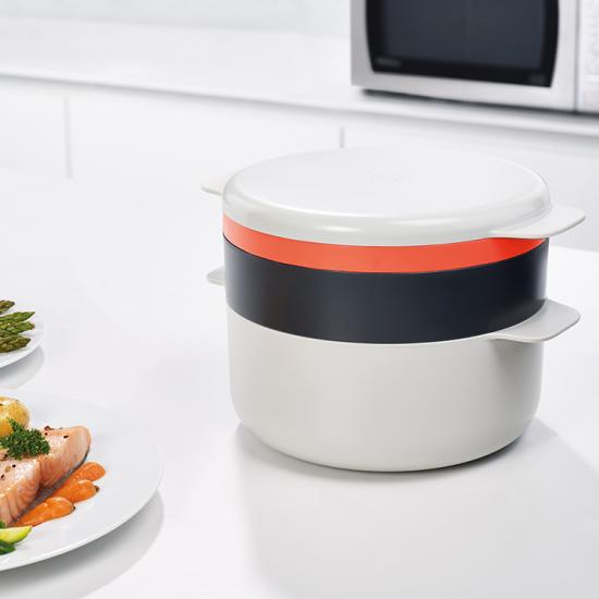 Набор для готовки в микроволновке Joseph Joseph M-Cuisine Stackable cooking set 3