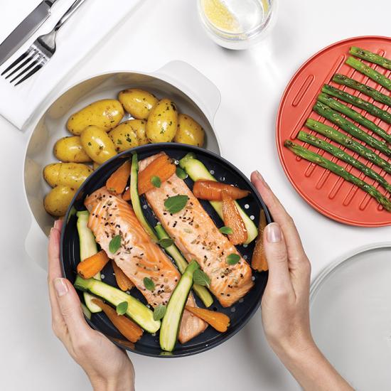 Набор для готовки в микроволновке Joseph Joseph M-Cuisine Stackable cooking set 1