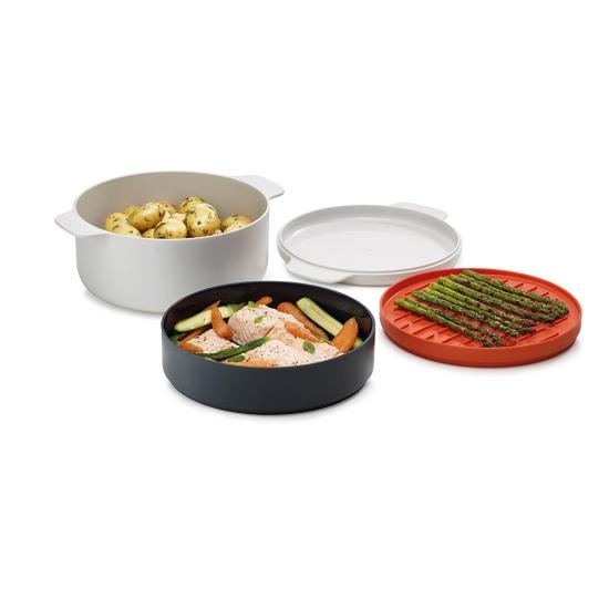 Набор для готовки в микроволновке Joseph Joseph M-Cuisine Stackable cooking set 4