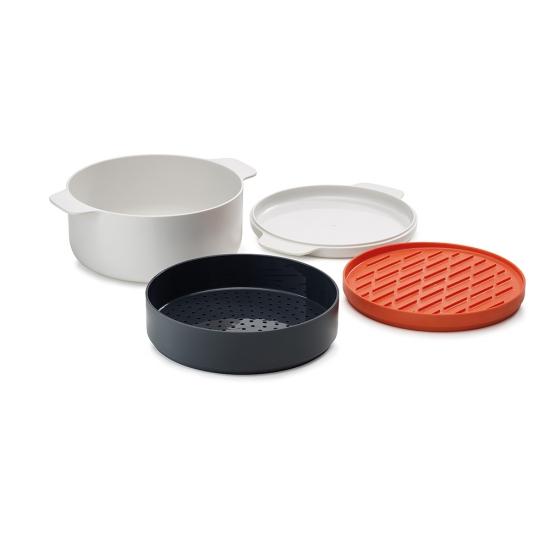 Набор для готовки в микроволновке Joseph Joseph M-Cuisine Stackable cooking set 6