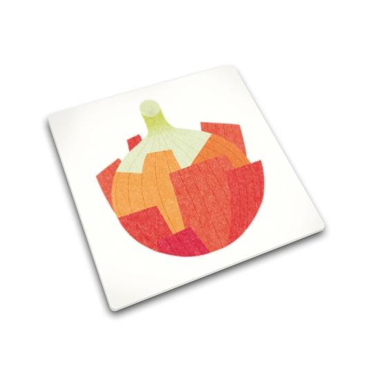Доска для готовки и защиты рабочей поверхности Joseph Joseph Onion 1