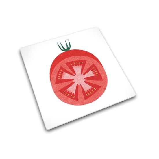 Доска для готовки и защиты рабочей поверхности Joseph Joseph Red Tomato 1