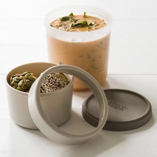 Контейнер для супа Joseph Joseph GoEat Space saving soup pot 8