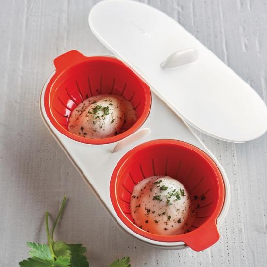 Набор для приготовления яиц пашот в микроволновке Joseph Joseph M-Cuisine Egg Poacher 9