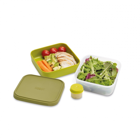 Контейнер для салата Joseph Joseph GoEat Space saving Salad Box 2
