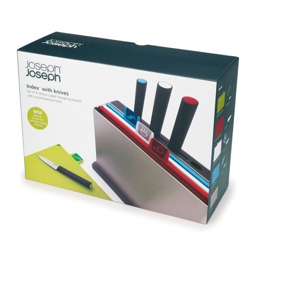 Набор разделочных досок с ножами Joseph Joseph Index™ With Knives 4