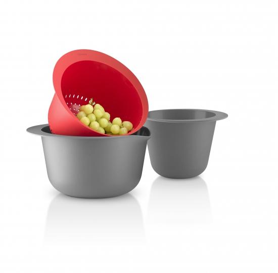 Набор мисок с дуршлагом Bowl Colander Set 1