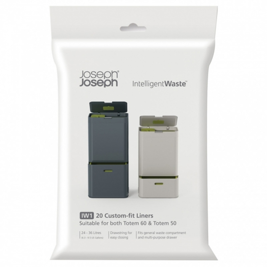 Пакеты для мусора Joseph Joseph Totem Custom-fit Liners 24-36 Litre 1