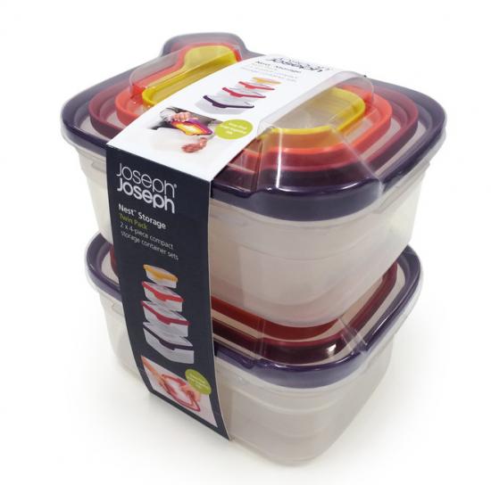 Контейнеры для хранения продуктов Joseph Joseph Nest™ Storage Set of 4 x 2 3