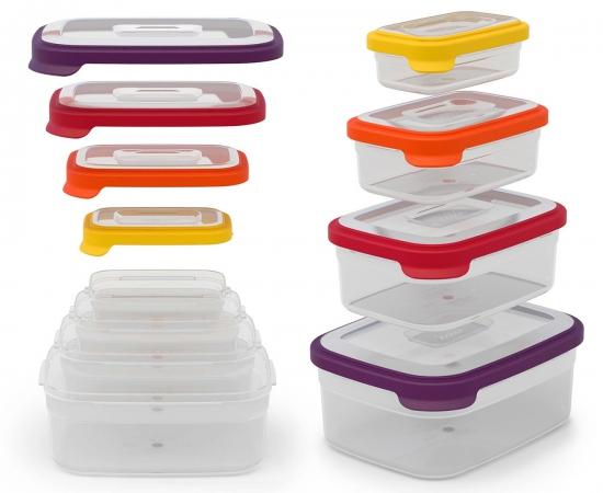 Контейнеры для хранения продуктов Joseph Joseph Nest™ Storage Set of 4 x 2 4
