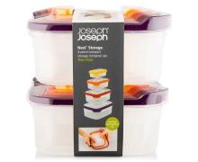 Контейнеры для хранения продуктов Joseph Joseph Nest™ Storage Set of 4 x 2