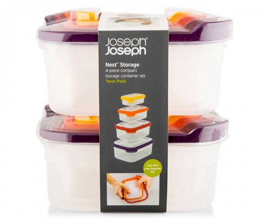 Контейнеры для хранения продуктов Joseph Joseph Nest™ Storage Set of 4 x 2 1
