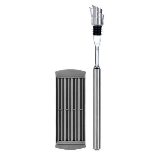 Многофункциональная воронка для вина Pourer and Cooling Rod Icepour 2