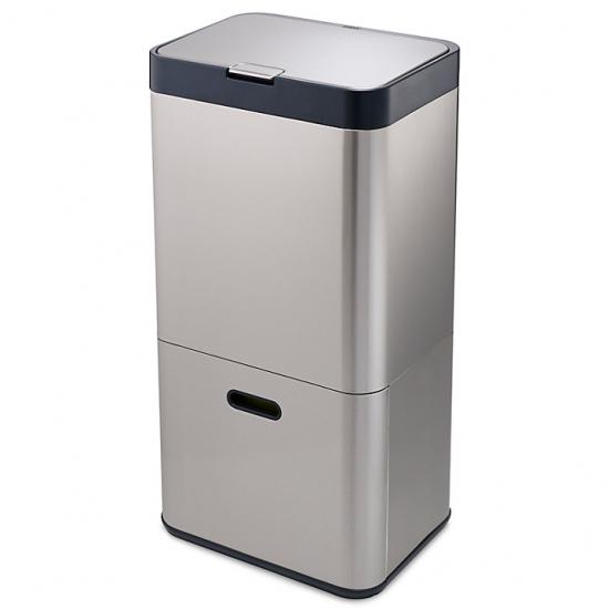 Контейнер для сортировки мусора Joseph Joseph Intelligent Waste™ Totem 60L Stainless Steel 5