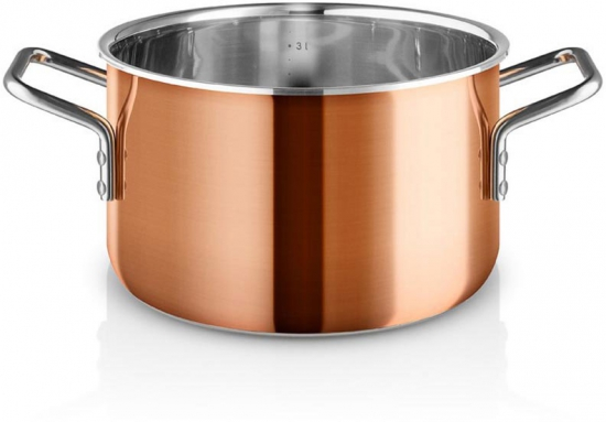 Кастрюля медная Copper 3.9L 1