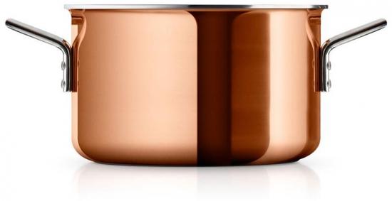 Кастрюля медная Copper 3.9L 2