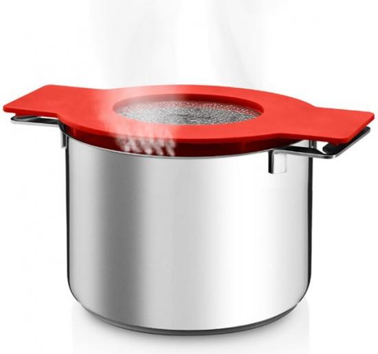 Кастрюля с крышкой-фильтром Gravity Pot 5L 2