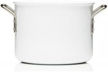Кастрюля с керамическим покрытием White Line 4.8L