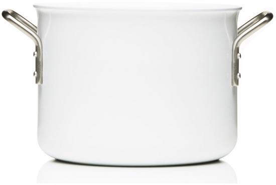 Кастрюля с керамическим покрытием White Line 4.8L 1