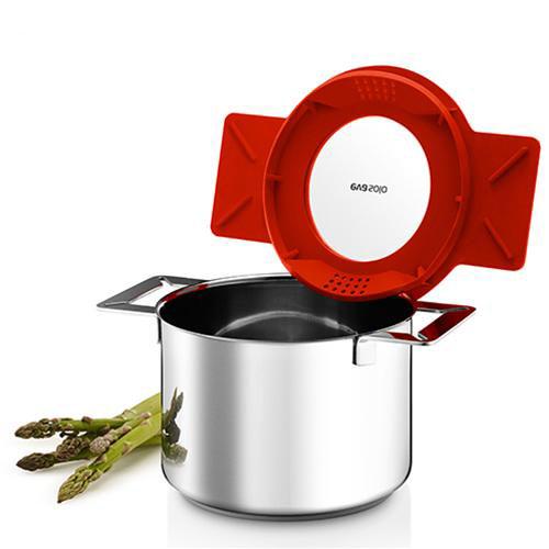 Кастрюля с крышкой-фильтром Gravity Pot 3L 2