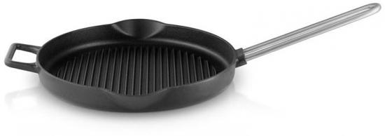Сковорода гриль чугунная Cast iron Grill Pan 28 cm 1