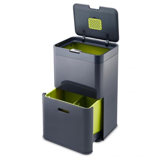 Контейнер для сортировки мусора Joseph Joseph Intelligent Waste™ Totem 48L 2