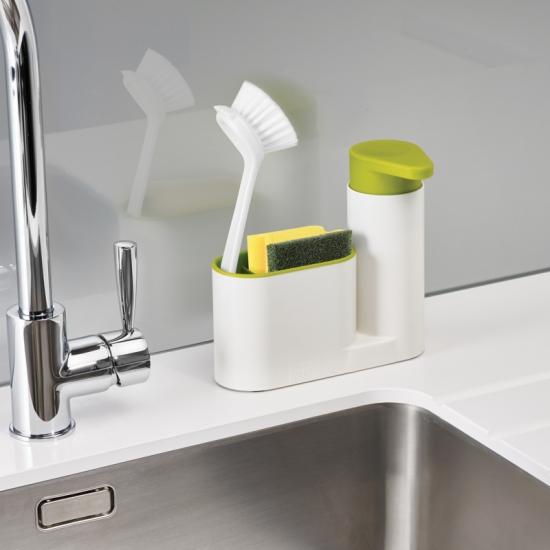 Органайзер с дозатором для мыла Joseph Joseph SinkBase™ 2pc Sink Tidy Set 1