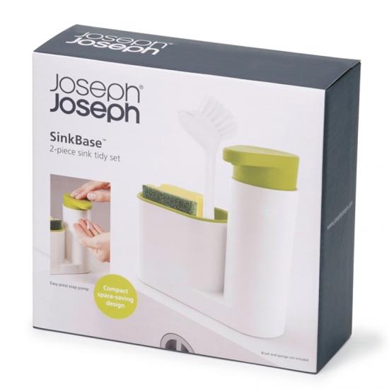 Органайзер с дозатором для мыла Joseph Joseph SinkBase™ 2pc Sink Tidy Set 3