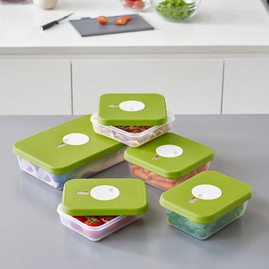 Контейнер для хранения пищевых продуктов Joseph Joseph Dial Rectangular Storage Container 0.9L 2