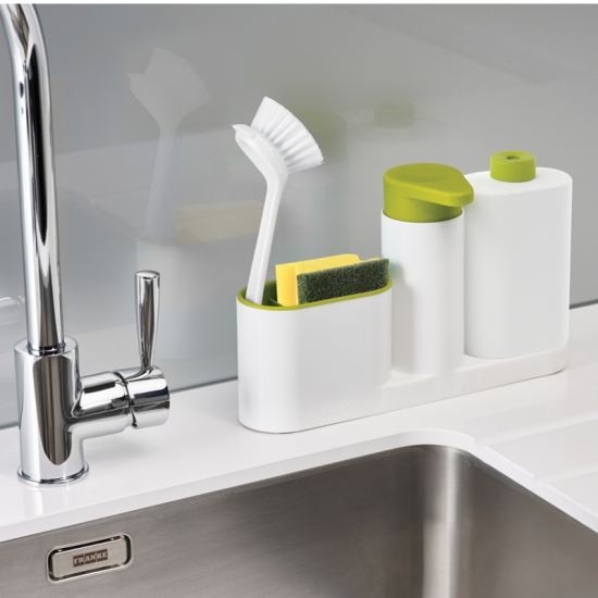 Органайзер с дозатором для мыла Joseph Joseph SinkBase™ 3pc Sink Tidy Set 4